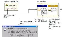 シーケンサ学習ソフト 自己判定画面
