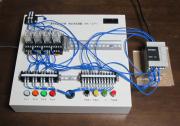 コンパクトPLCのガムテープ固定画像